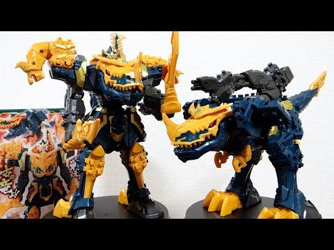 騎士竜の神!DXキシリュウジン ディノミーゴとコブラーゴが変形合体 レビュー!ビュービューソウル 劇場版リュウソウジャー限定ロボ