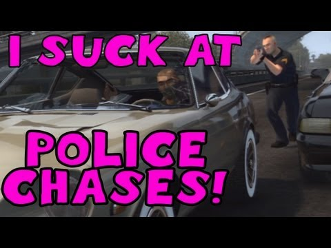 I SUCK at POLICE CHASES! Woman Driver - Midnight Club Los Angeles