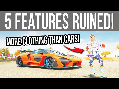 5 *New* Features that RUINED Forza Horizon 4!