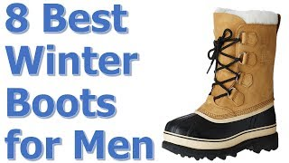 Best Mens Winter Boots 2017/2018 || Best Winter Boots for Men Review