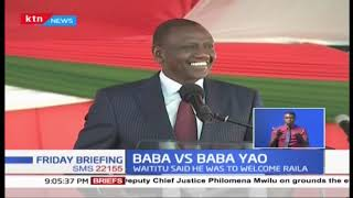 BABA Vs Baba Yao: Raila Odinga tells off Governor Waititu over alleged \'travel ban\'