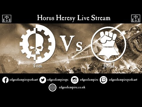 Company of Legends - Mechanicum vs Imperial Fists - Live Streamed Horus Heresy Game