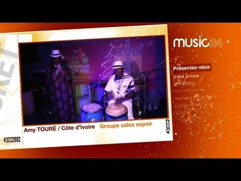 MUSIC 24 - Côte d'Ivoire: Amy Touré, Manager du groupe Salsa Espoir