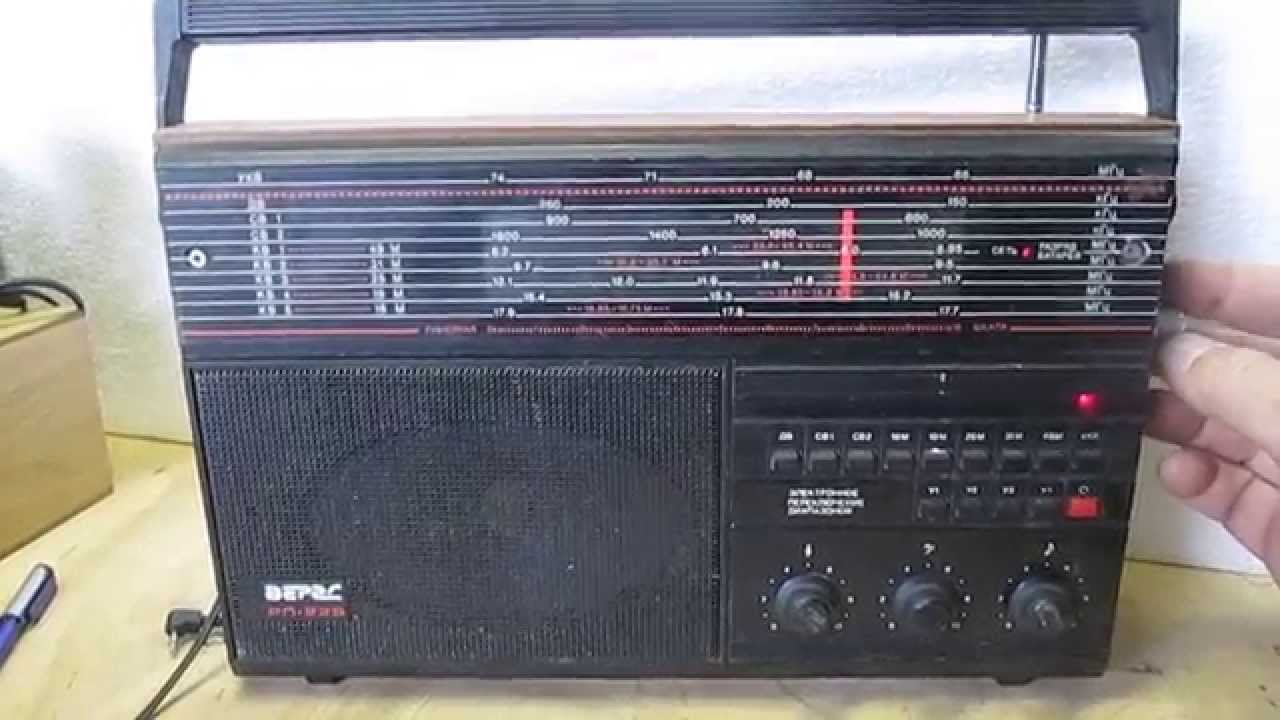 радиоприемник океан 222 инструкцыя