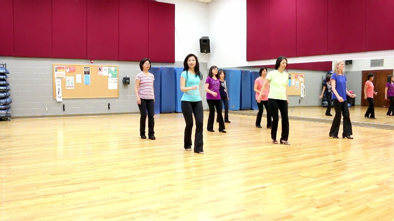 Giddy Up - Line Dance (Dance & Teach in English & 中文) - YouTube