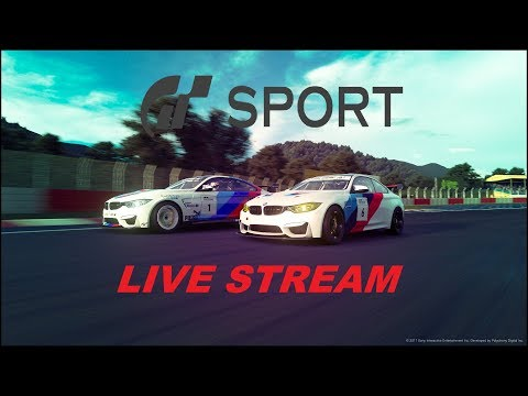 GT SPORT LIVE STREAM DAILY RACE