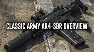 Classic Army AR4-SBR Overview!! - Airsoft GI