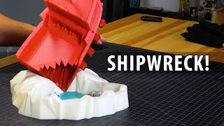 Shipwreck! 3D Printing and Testing a Shipwreck Dice Tower
