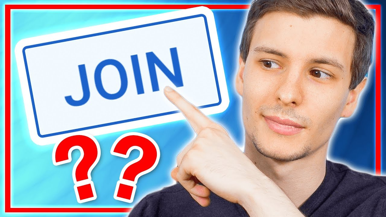 What's The New JOIN Button on My Channel? 🤔 - YouTube