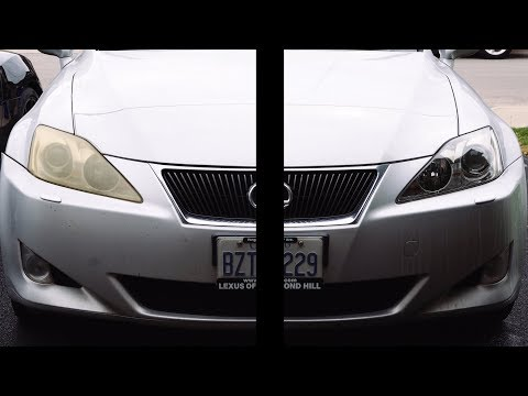 How To RESTORE your Headlights the PROPER way!