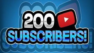 200 SUBSCRIBERS - SPECIAL VIDEO / THANKS