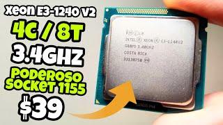 EL MEJOR CPU GAMER SOCKET 1155 INTEL XEON E3 1240 V2   Vale la pena? TE LO CUENTO TODO! Parte 1