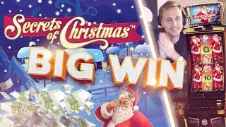 BIG WIN!!!! Secret of Christmas Big win - Casino - Bonus Round (Huge Win)