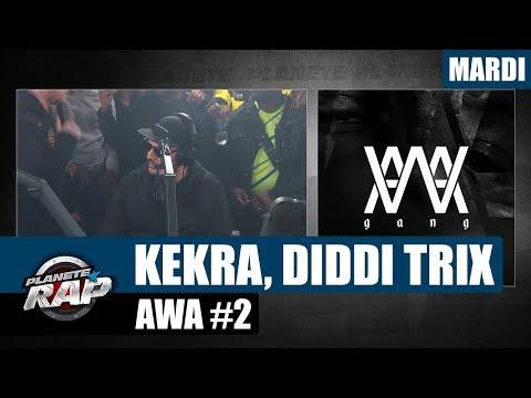 Youtube: Planète Rap – AWA avec Kekra, Diddi Trix & Co  #Mardi