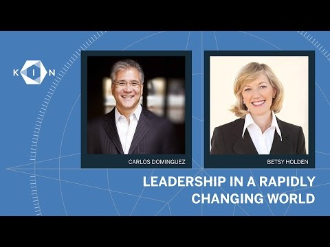 Carlos Dominguez, Betsy Holden: KIN Global 2016