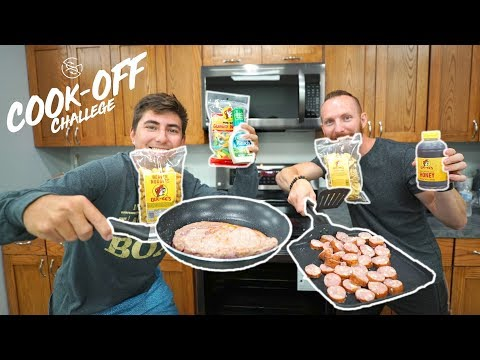 ULTIMATE GAS STATION COOK-OFF ( Would you eat this??)
