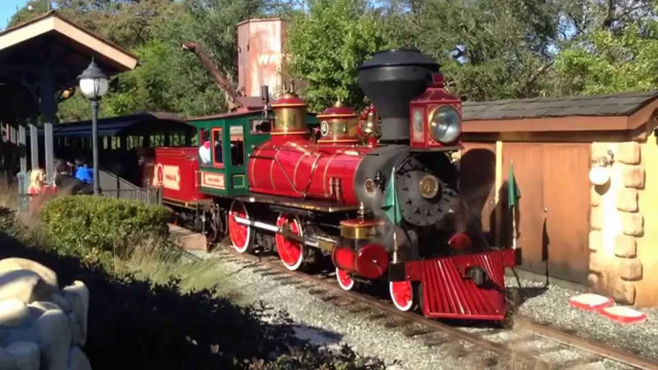walt disney world railroad november 2014