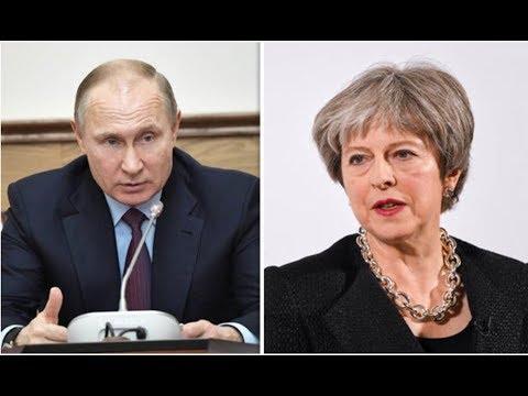 """PUTIN """"EXTREMELY CONCERNED"""" OVER UK'S DESTRUCTIVE PROVOCATIVE STANCE OVER SKRIPAL CASE!"""
