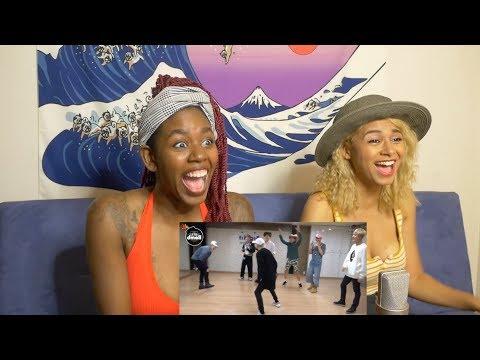 BTS 'Silver Spoon (Baepsae)' mirrored Dance Practice - REACTION!!