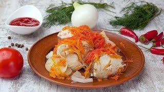 Рыба, тушеная в томатном соусе - Рецепты от Со Вкусом