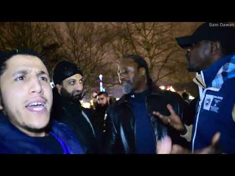 P2 Who is the extremist! Br Shamsi Vs an emotional Christian Speakers Corner Hyde Park