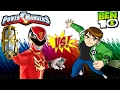 Download Power Rangers And Ben 10 Hard Fights Gameplay