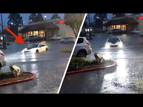 My BMW I8 Got Flooded.. *CRAZY STORM*