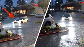 My BMW i8 got flooded.. *CRAZY STORM*