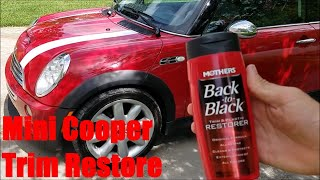 homepage tile video photo for R53 Mini Cooper S Plastic Trim Restore Guide