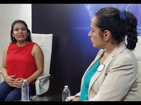 Erika Saldaña @erikasaldana e Ima Guirola @CEMUJER en Conexiones con William Meléndez