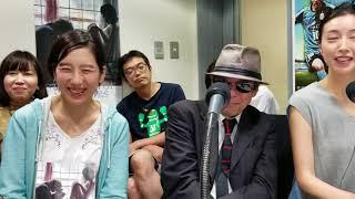 かわさきFM「岡村洋一のシネマストリート」生放送より.