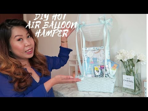 DIY Hot Air Balloon Hamper
