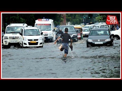 Gujarat: Heavy Rain Causes FloodLike Situation