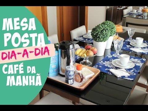 MESA DE CAFÉ DA MANHÃ DIA-A-DIA (COM GUARDANAPO DE PAPEL)