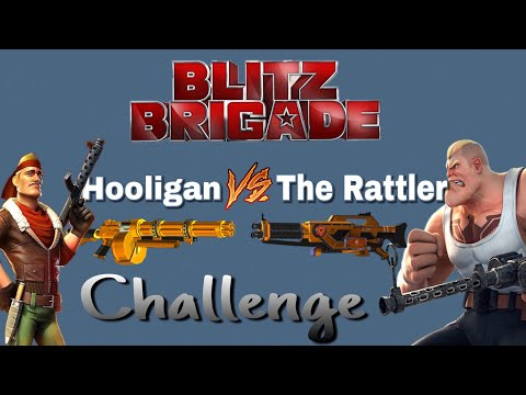 【Blitz Brigade【 Hooligan V/s The Rattler Premium Gameplay 】Full Fusion Reviews 】 #SuperSoldiers