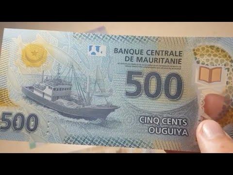Mauritanian new ouiguiyas banknotes review 🇲🇷 #6