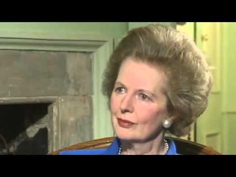 Margaret Thatcher tears over resignation