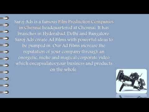 Ad Film Production A Smart Approach Of Saroj Ad Agency
