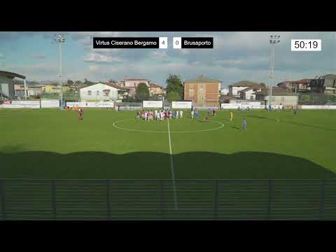 Virtus Ciserano Bergamo-Calcio Brusaporto