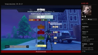 LIVESTREAM#268-FORTNITE| SAVE THE WORLD- RECEBI 150 V-BUCKS RECOMPENSA DIÁRIA