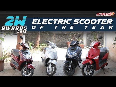 Best Electric Scooter in India | MotorOctane 2W Awards 2018 in Hindi