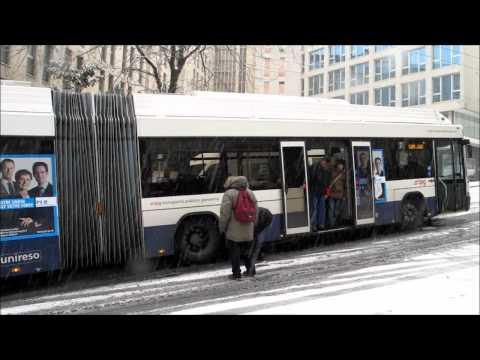 Trolleybus tpg en difficulté Genève, neige du 27 11 2010
