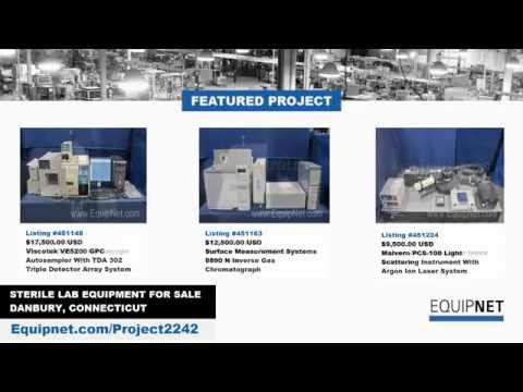 Sterile Lab Equipment for Sale