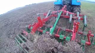 Vlog #3 uprawa ścierniska New Holland Unia [GoPro]