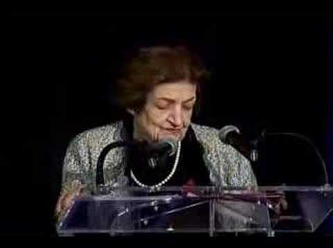 "Helen Thomas: ""The dean of the Washington, D.C. press corps"""