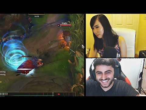 WHEN SHE SEES A CHEATING YASUO WITH INFINITE TORNADOES | YASSUO'S NA CASTING | TYLER1 | LOL MOMENTS