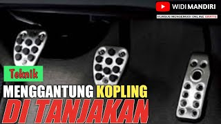 Rahasia cara trik belajar mobil di jalan tanjakan yg ramai langsung putar balik by Widi Mandiri