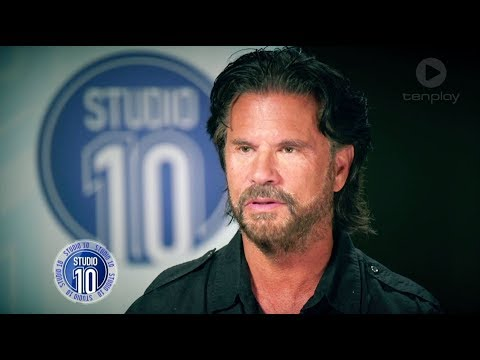 Lorenzo Lamas Reminisces About His 'Grease' Days  Studio 10