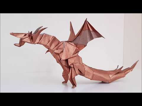 Origami Fairy Dragon 🐲 Folding Tutorial