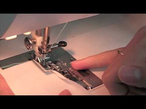 How To Do A Rolled Hem On Sewing Machine YouTube Enchanting How To Use A Hemming Foot On A Sewing Machine